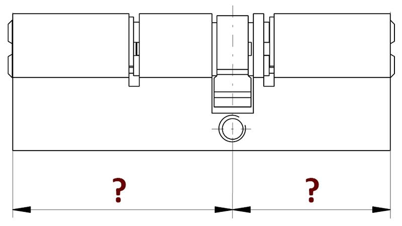 Zárbetét méret - Zárbetét mérése - Zárbetét csere