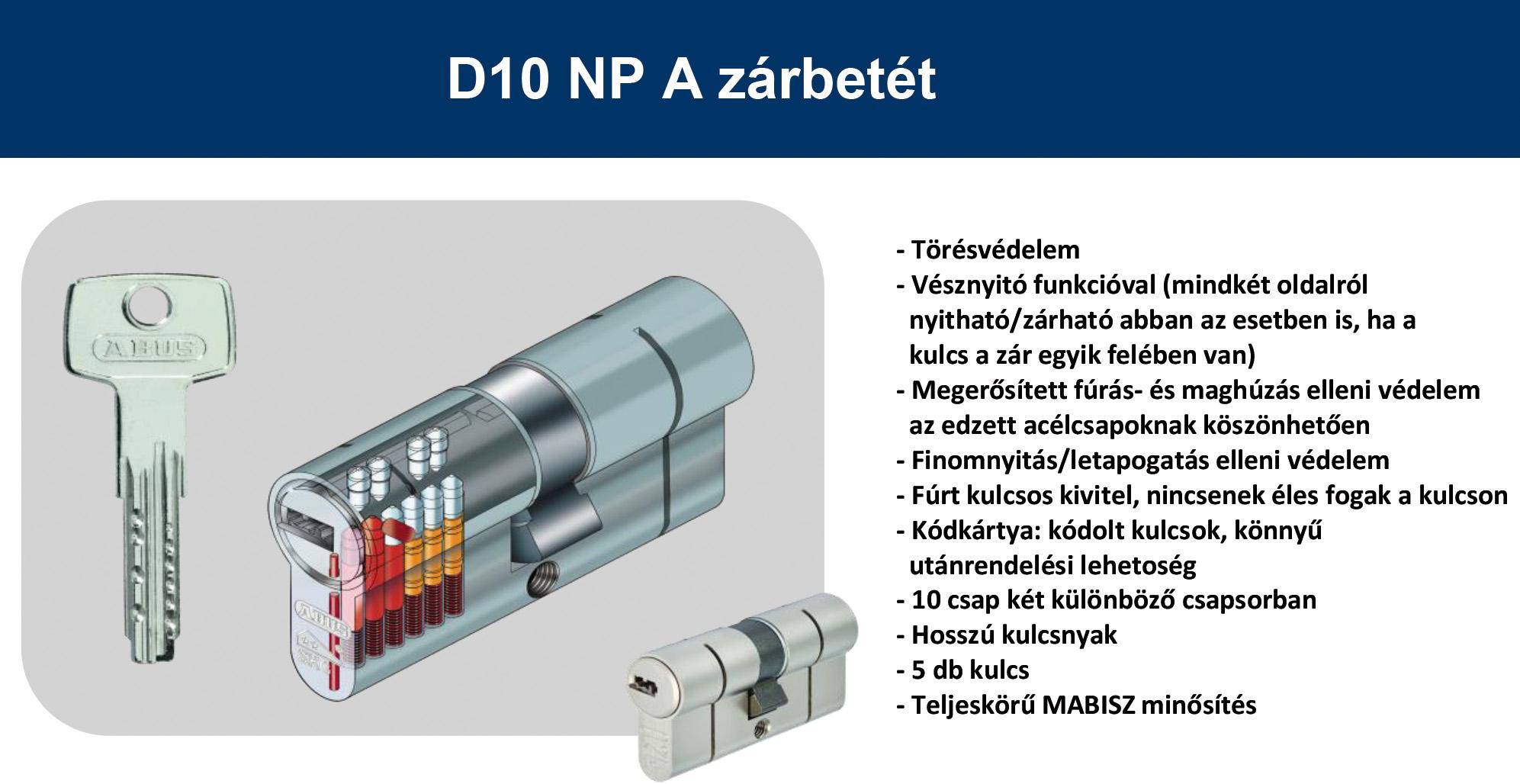 Abus D10NP A